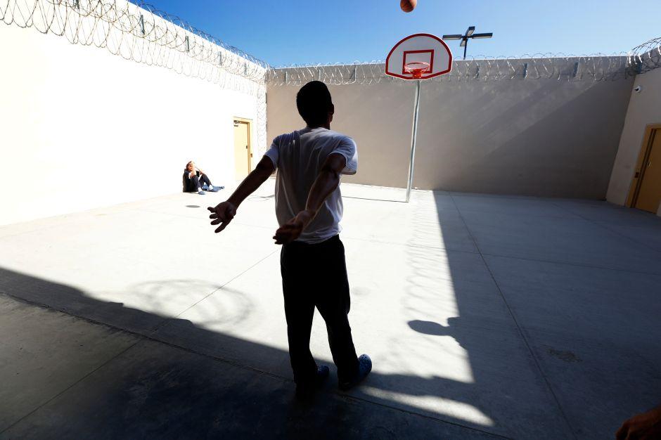 Fotos: una cárcel de ICE que pretende 'liberar' a inmigrantes detenidos