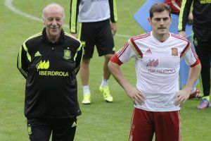 Vicente del Bosque acepta ruptura con Iker Casillas
