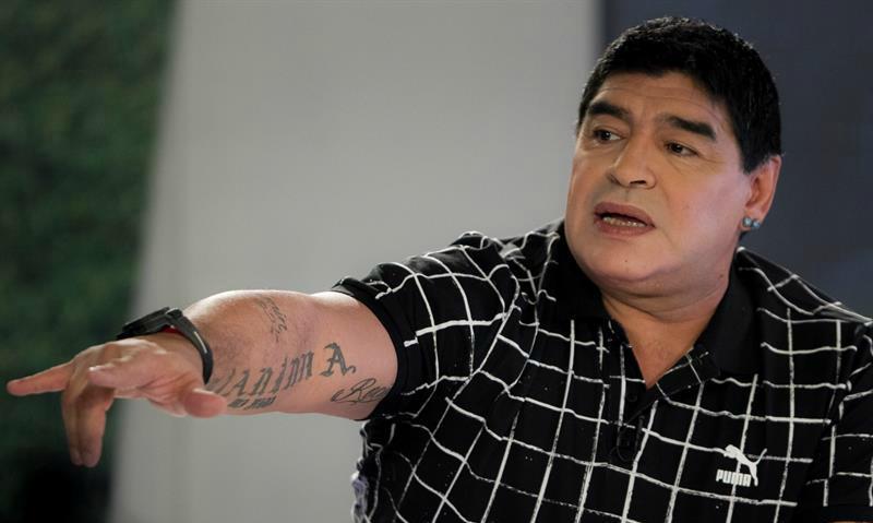 Maradona tiene a su favorito en la Eurocopa ¿será Bale o Cristiano Ronaldo?