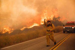 Incendio de Santa Clarita deja pésima calidad de aire en el sur de California