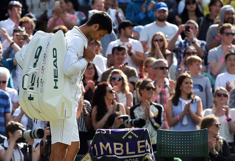Sorpresa en Wimbledon: Novak Djokovic fue eliminado en tercera rueda por Sam Querrey