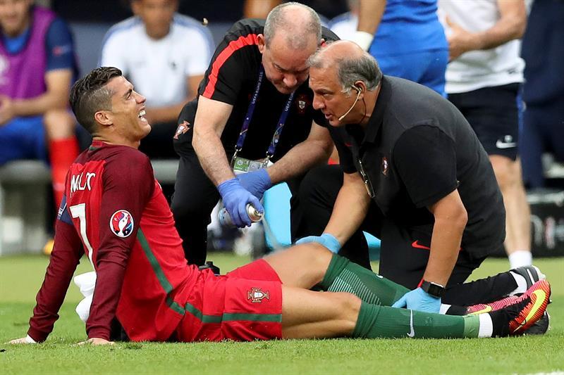Cristiano Ronaldo causa baja un mes y se pierde la Supercopa de Europa
