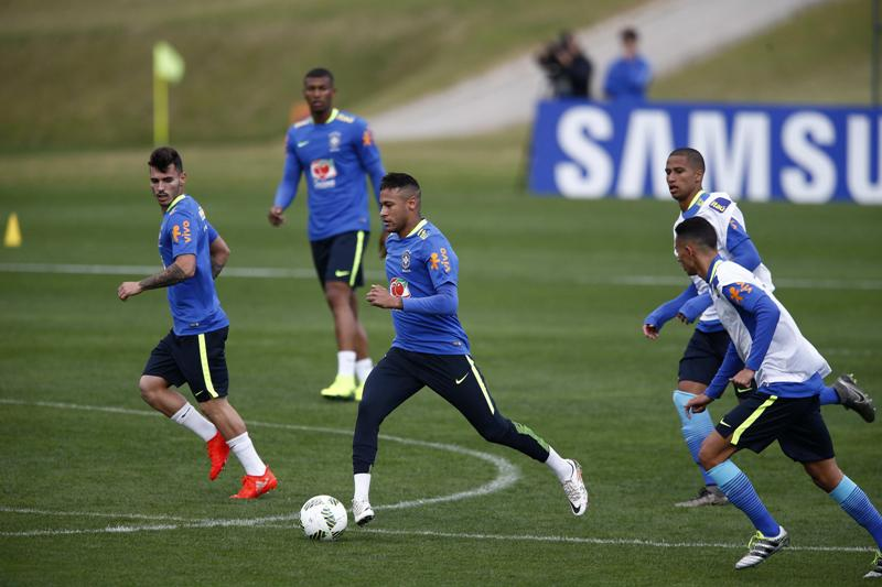 Neymar, Gabriel Jesús y 'Gabigol', el 'tridente' olímpico de Brasil