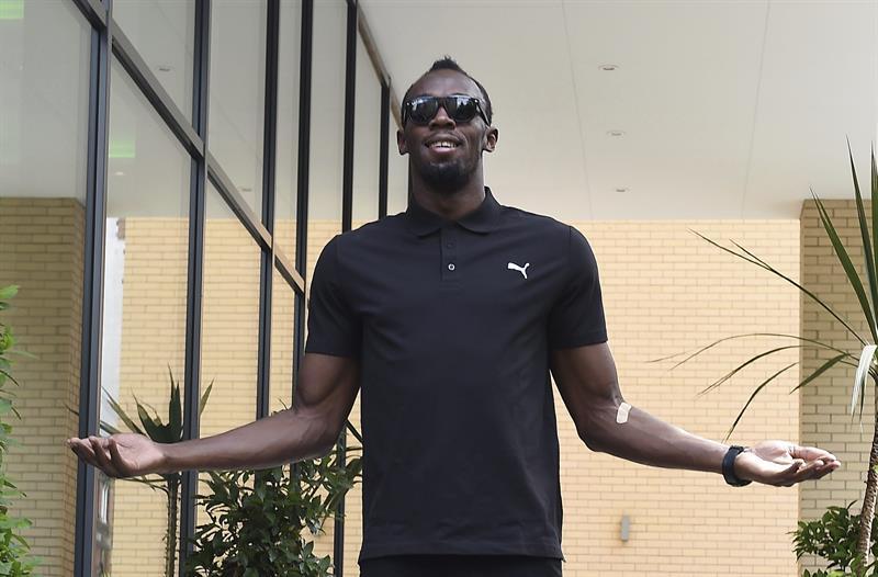 Llegó la gran estrella de Río 2016: Usain Bolt ya está en Brasil para los Juegos Olímpicos