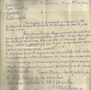 Esta carta de amor de 1952 está revolucionando lnternet