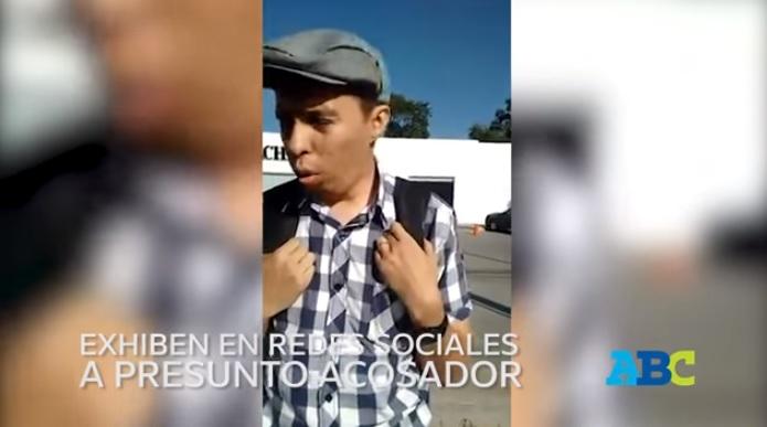 Video: Acosador pide no ser exhibido para no destruir su matrimonio