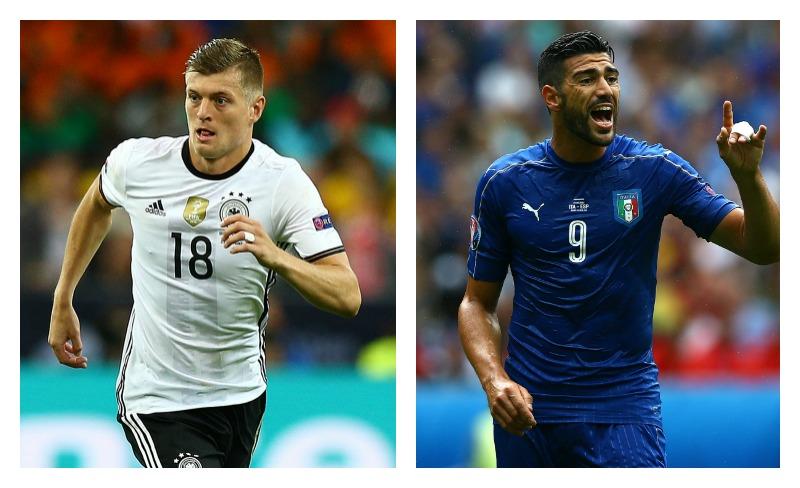 Euro 2016: Alemania vs. Italia, consulta el horario, canales y alineaciones