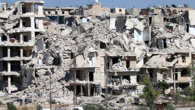 El polémico corredor humanitario por el que pocos escapan de Alepo