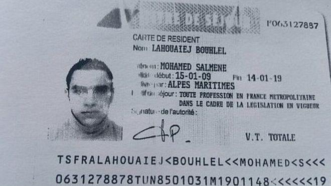 Quién era el atacante que mató con un camión al menos 84 personas en Niza