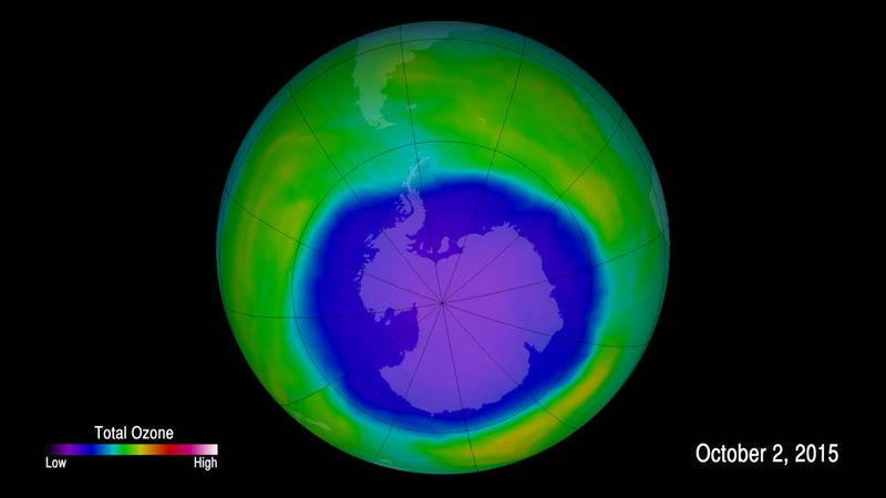"""Cuáles son las razones por las que la capa de ozono se está """"sanando"""""""