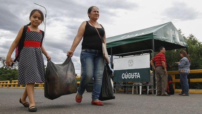 Venezuela abrirá la frontera con Colombia por 12 horas este domingo