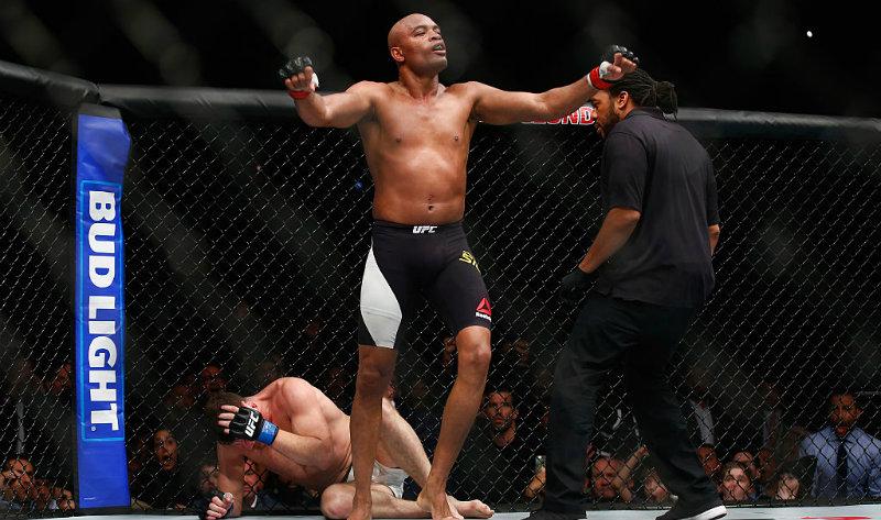 Anderson Silva, el sustituto de Jon Jones en la UFC 200