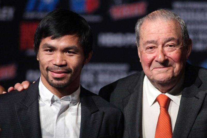 Bob Arum busca al mejor postor: pone a la venta la promotora de boxeo Top Rank