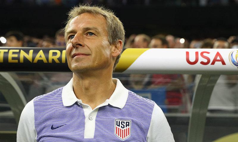 Jürgen Klinsmann suena para dirigir a Inglaterra