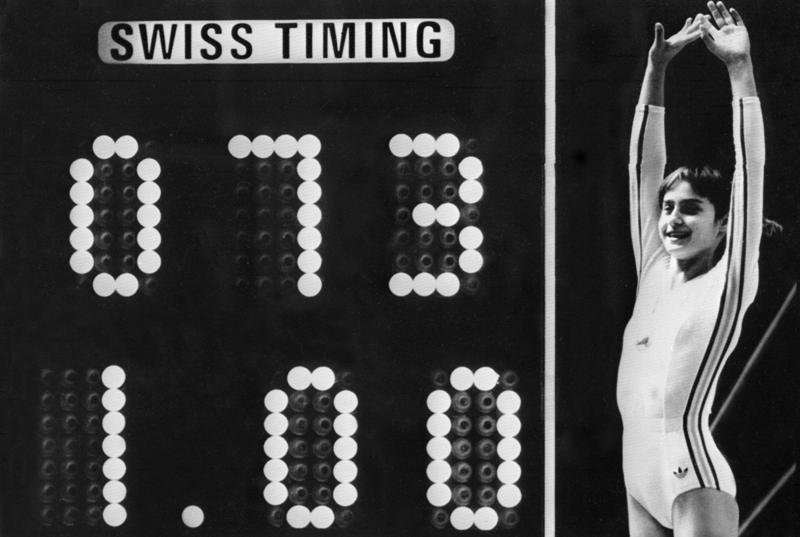Nadia Comaneci y el recuerdo de su hazaña en los Juegos Olímpicos
