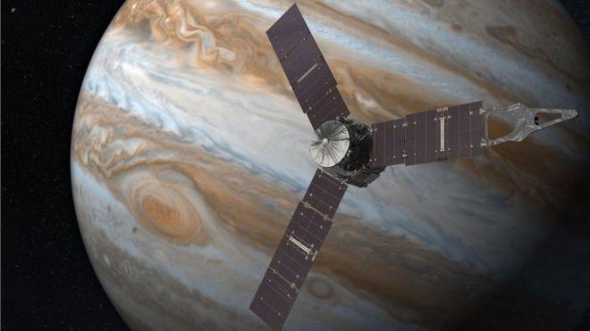 Los 35 minutos de esta noche que marcarán el éxito o el fracaso de la exploración de Júpiter