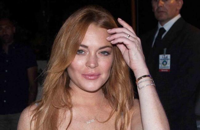 Video: ¡Lindsay Lohan protagonizó una escandalosa pelea con su novio!