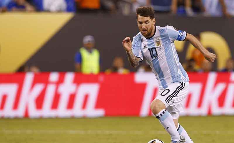 Lionel Messi, delantero argentino del Barcelona y la selección de Argentina.