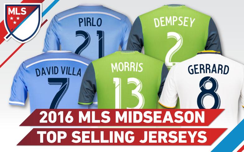 Los jugadores que más venden camisetas en la MLS en 2016