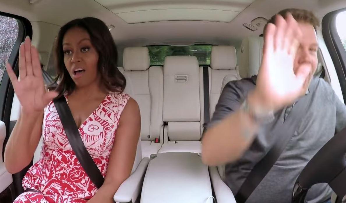 Video: mira a Michelle Obama imitando a Beyoncé en un Karaoke