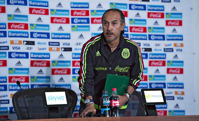 Raúl Gutiérrez, técnico de la selección mexicana sub-23.