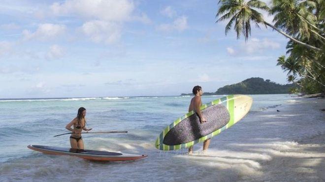 Por $49 participó en la rifa de un resort de lujo en una isla… ¡y ganó!