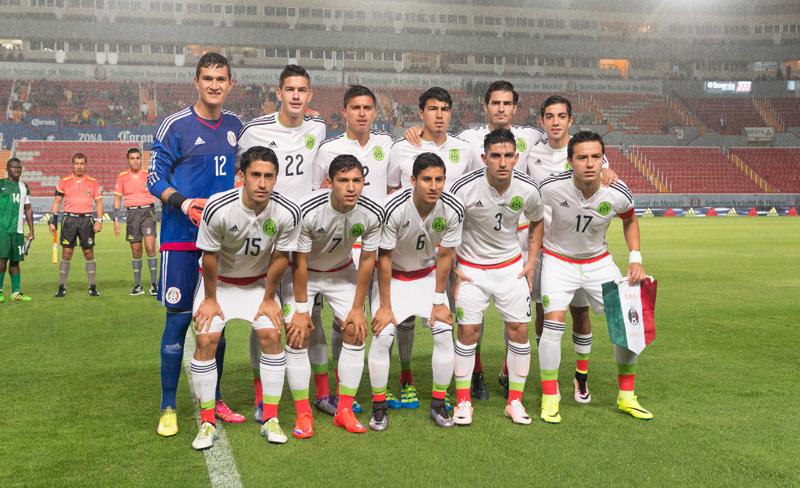 La selección mexicana sub-23 se alista para los Juegos Olímpicos de Río 2016.