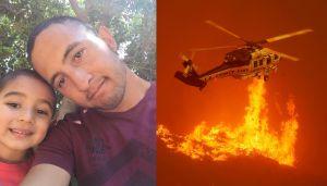 Video: El bombero latino que perdió todo en el incendio de Santa Clarita