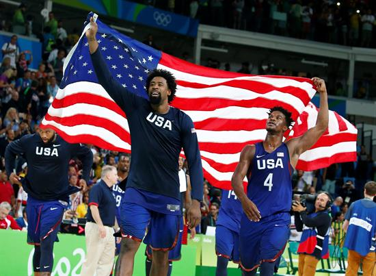 """El """"Dream Team"""" no falló y se coronó tricampeón olímpico"""
