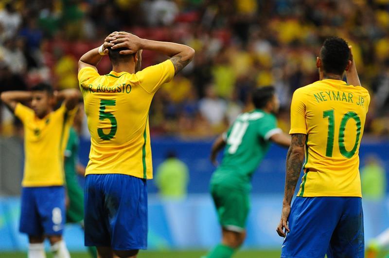 Brasil no ha podido anotar en estos Juegos Olímpicos.