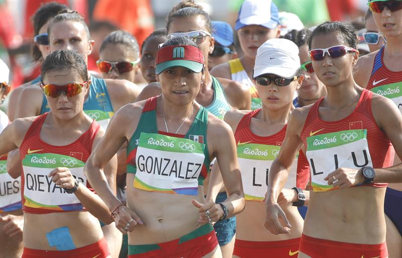 Lupita González le da a México una histórica medalla de plata en marcha de 20 km