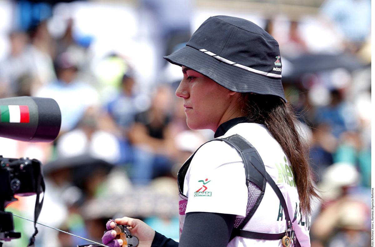 Alejandra Valencia, tiro con arco.