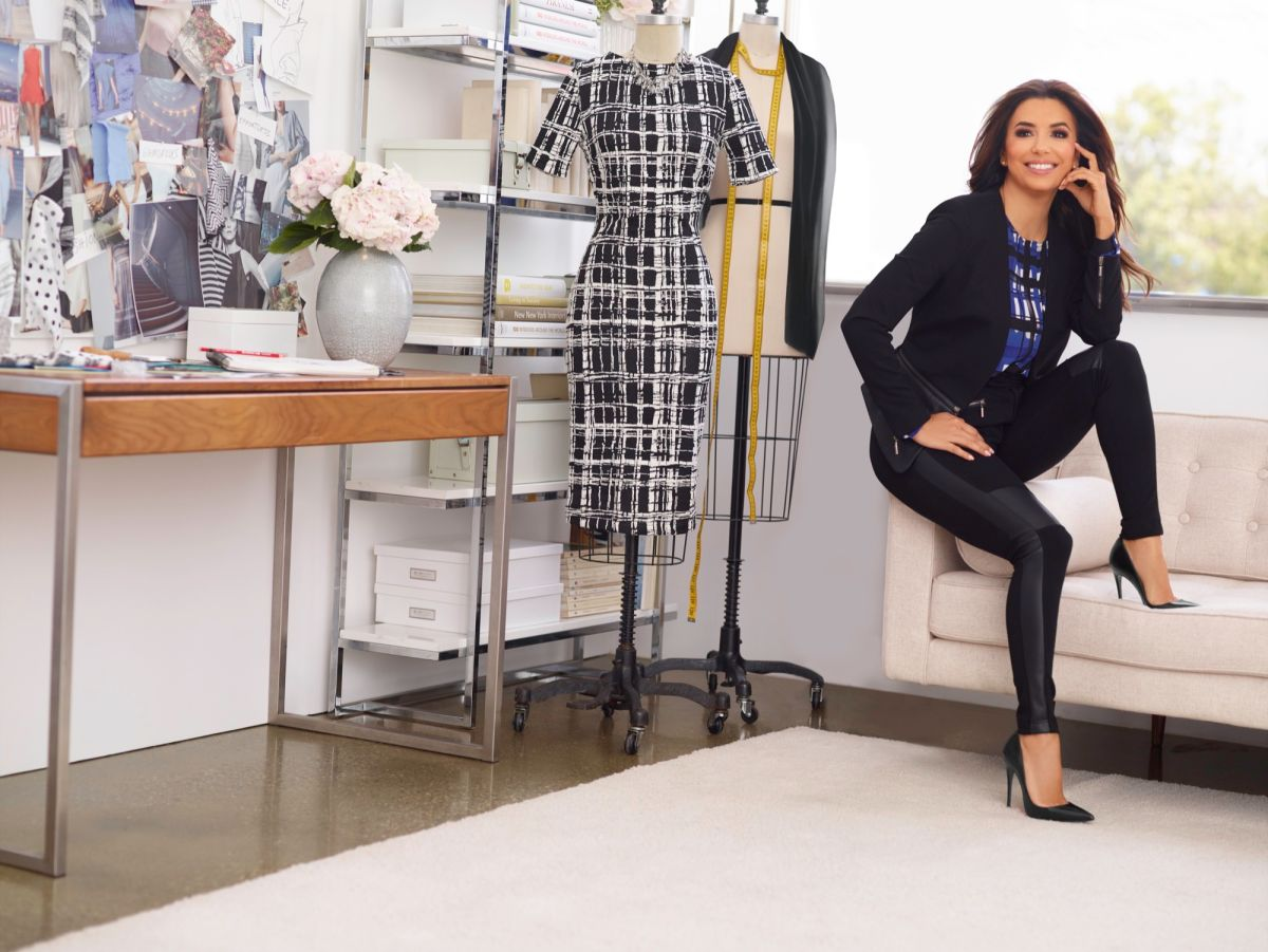 Eva Longoria: diseñadora de modas