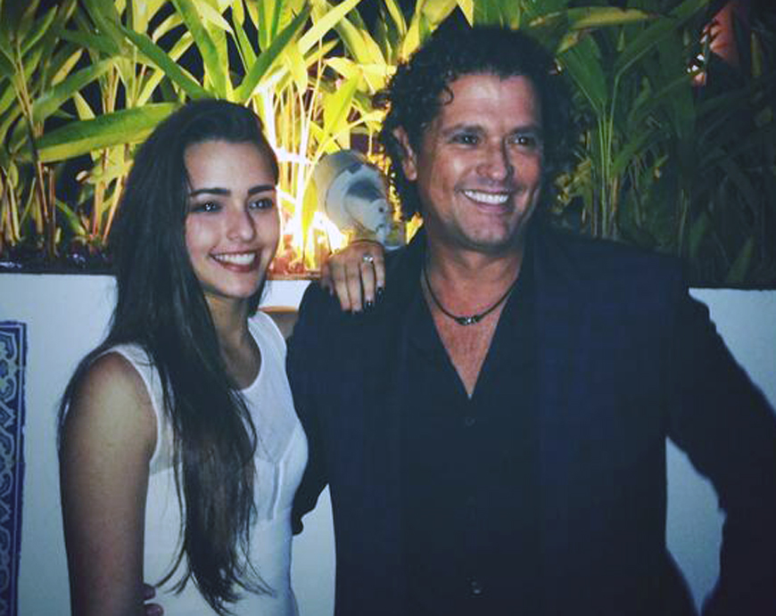 Foto: El desnudo de la hija de Carlos Vives para una revista de caballeros