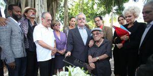 Charytín cumple la última voluntad de su esposo en Puerto Rico