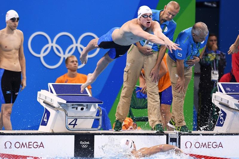 Gunnar Bentz y Jack Conger durante su participación en Río 2016.