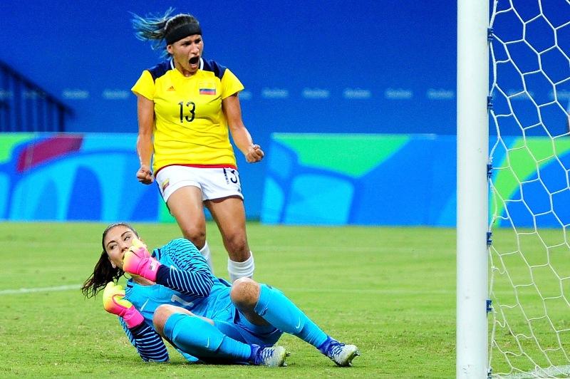 Río 2016: Colombia puso fin a la racha de victorias de EEUU en el fútbol olímpico