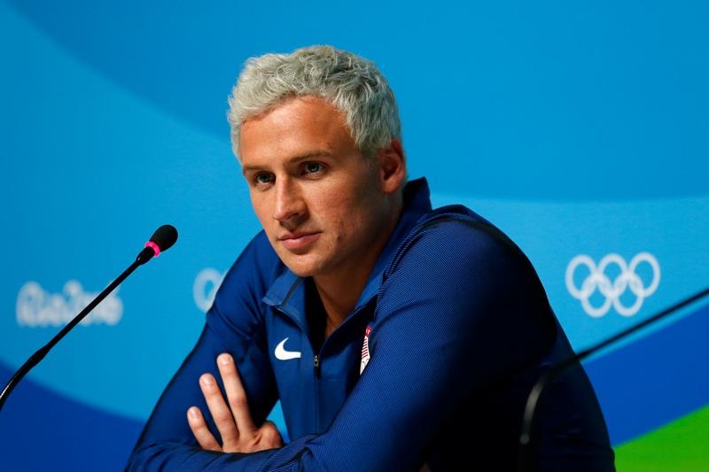 El nadador Ryan Lochte ya se encuentra en territorio estadounidense tras participar en los Juegos Olímpicos Río 2016.