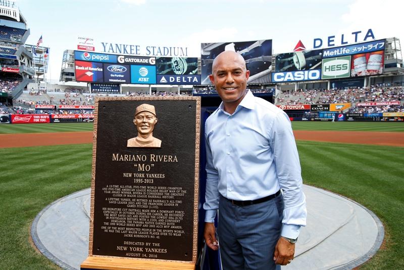 Mariano Rivera acompaña a los más grandes de Yankees