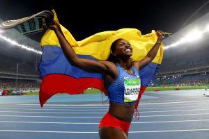 Caterine Ibargüen es de oro: por fin gana el título olímpico de salto triple y Colombia vuela alto