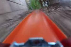 Video: Así sería un ride a bordo de un Hot Wheels