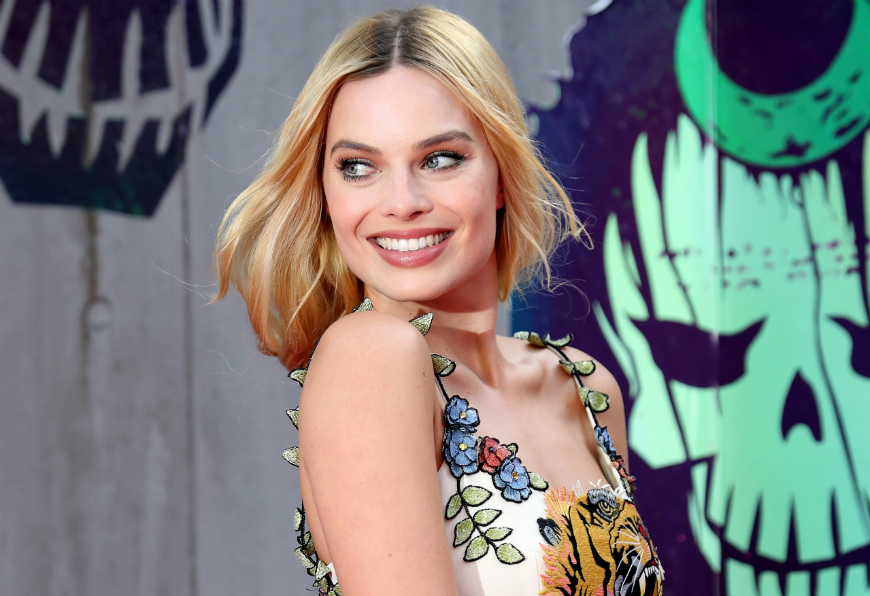 Margot Robbie casi deja que una pitón estrangulara a su madre