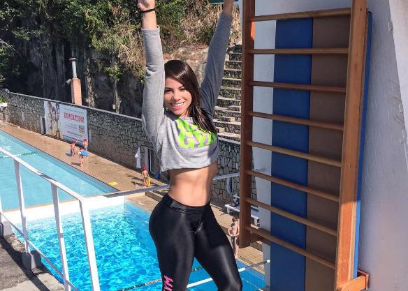 Clavadista brasileña Ingrid de Oliveira es expulsada por escándalo sexual