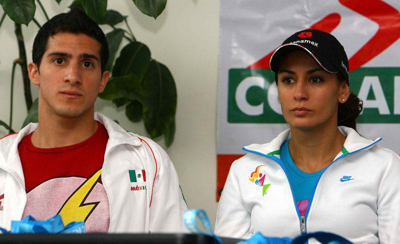 A punto de disputar la final de trampolín de 3 metros, ¿Paola Espinosa será la inspiración de Rommel Pacheco?