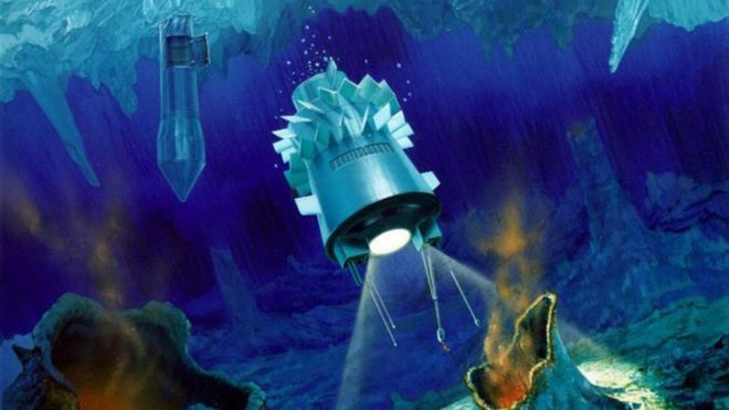 Así serán los submarinos espaciales para explorar los océanos de Saturno y Júpiter
