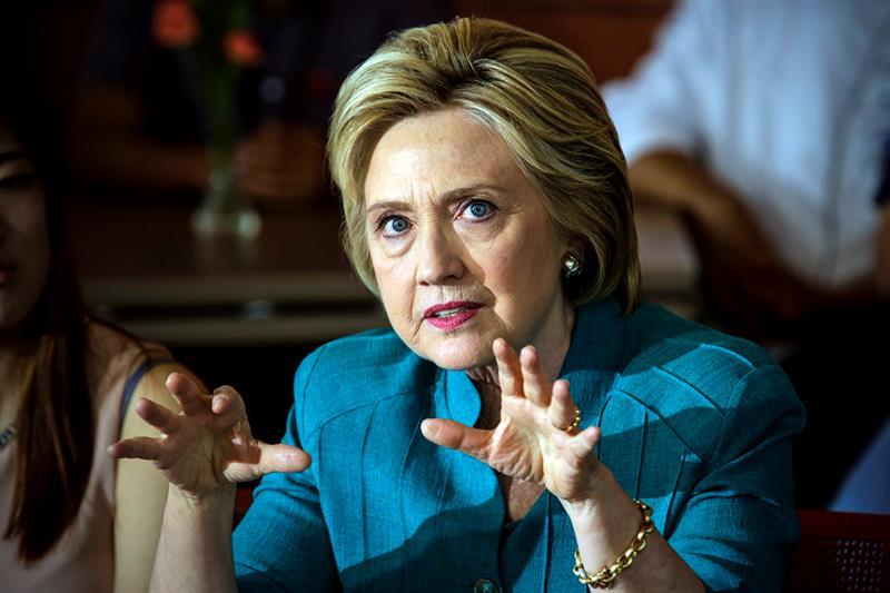 Hillary Clinton, candidata demócrata a la presidencia de EEUU.