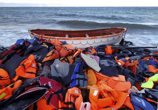 42 niños migrantes, entre los rescatados por el barco Ocean Viking