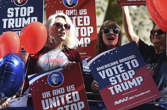 En Londres, lanzan campaña contra Trump