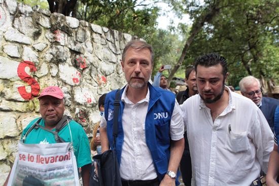 ONU exige justicia para el caso Ayotzinapa