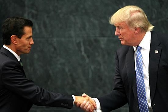 Peña Nieto defiende visita de Trump a México